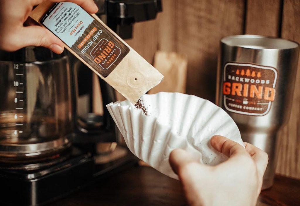 Branding-Logo-Backwoods-grind-coffee-packaging-label-sampler