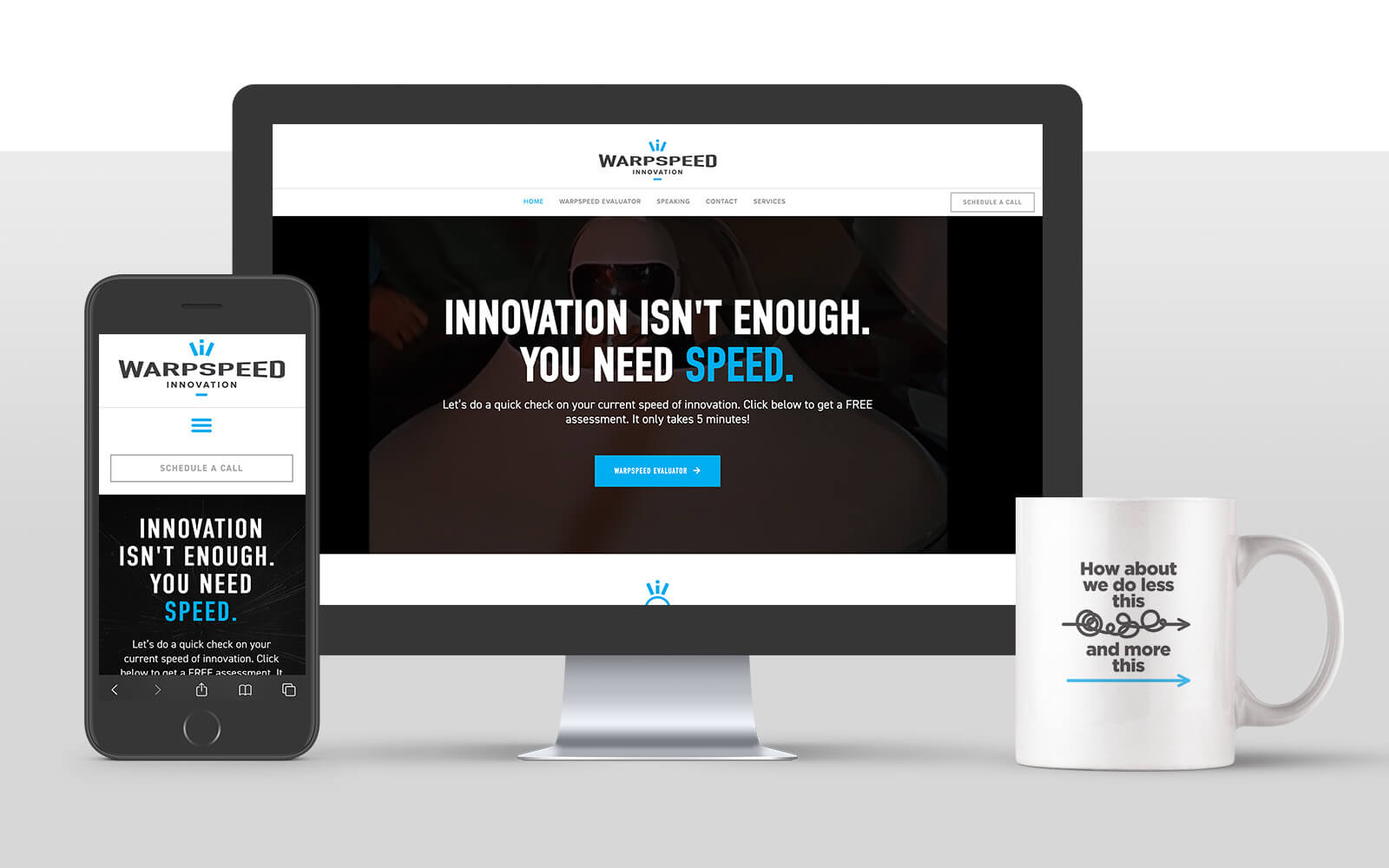 Branding-Warpspeed--website-mug-iphone-Sample